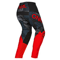 O Neal Element Camo V.22 Pants Black Red