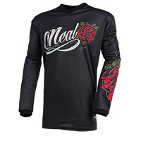 O Neal Element Roses Women Jersey Black