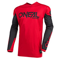 O Neal Element Threat Jersey Red Black