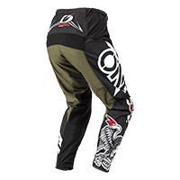 Pantaloni O Neal Element Warhawk Nero Verde