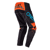 O'neal Element Impact Pants Black Orange