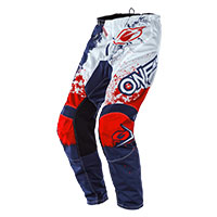 O'neal Element Impact Pants Blue Red
