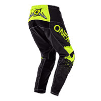 O'neal Element Impact Pants Black Yellow