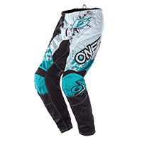 O'neal Element Impact Pants Black Teal