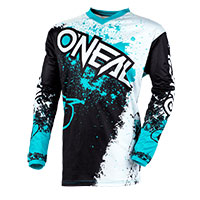 O'neal Element Impact Jersey Black Teal