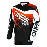 O'neal Maglia Bimbo Element Racewear Nero Arancio Bimbo