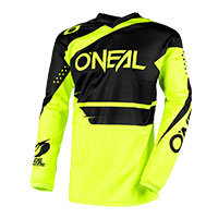 O'neal Maglia Element Racewear Nero Giallo