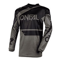 O'neal Maglia Element Racewear Nero Grigio