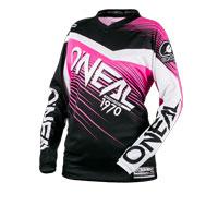 O'neal Maglia Element Racewear Donna Nero Rosa Donna
