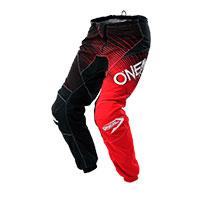 O'neal Pantaloni Element Racewear Nero Rosso