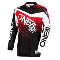 O'neal Maglia Element Racewear Nero Rosso