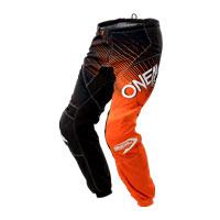 O'neal Pantaloni Element Racewear Nero Arancio