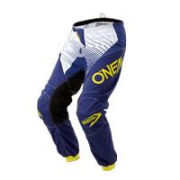 O'neal Pantaloni Element Racewear Blu Giallo