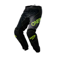 O'neal Pantaloni Element Racewear Nero Giallo
