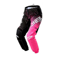 O'neal Pantaloni Element Racewear Donna Nero Rosa Donna