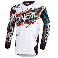 O Neal Element Villain Youth Jersey White Kid