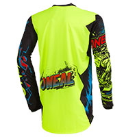 O Neal Element Villain Youth Jersey Yellow Kinder