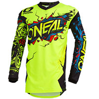 O Neal Element Villain Youth Jersey Yellow Kid