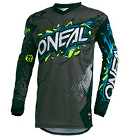 O Neal Element Villain Youth Jersey Grey Kid