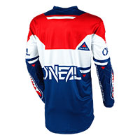 O'neal Element Warhawk Jersey Blue Red