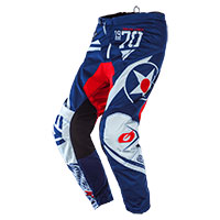 O'neal Element Warhawk Pants Blue Red