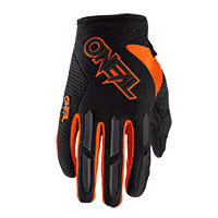 O Neal Element Youth Gloves Orange Kid