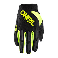 O Neal Element Youth Gloves Yellow Kid