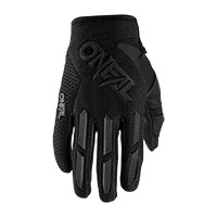 O Neal Element Youth Gloves Black Kid