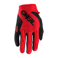 O Neal Element Youth Gloves Red Kid