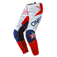O\'neal Element Factor Pants White Blue Red