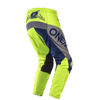 O'neal Element Factor Pants Grey Blue Yellow