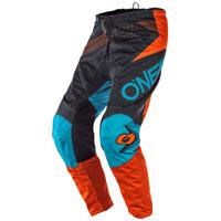 Pantalon O'neal Element Factor Gris Orange Bleu