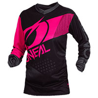 O'neal Element Factor Jersey Black Pink Lady
