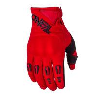 Oneal Guanti Hardwear Iron Rosso