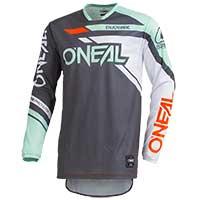 O'neal Hardwear Rizer 2019 Jersey Grigio Mint