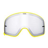O Neal B-50 Lens Silver Frame Yellow