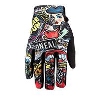 O Neal Matrix Crank Youth Gloves Multi Kid