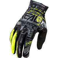 O Neal Matrix Ride Gloves Yellow