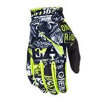 O'neal Matrix Attack Gloves Yellow
