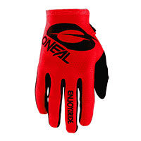 O Neal Matrix Stacked Gloves Red