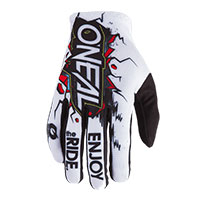 O Neal Matrix Villain Gloves White