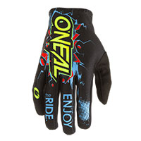 O Neal Matrix Villain Gloves Black
