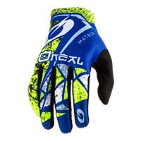 O'neal Matrix Zen Gloves Blue