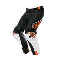 O'neal Pantaloni Mayhem Lite Blocker Nero Bianco Arancio