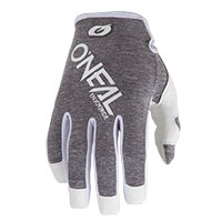 O'neal Mayhem Hexx Gloves Gray White