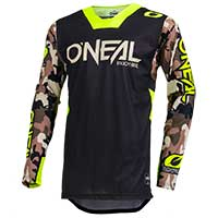 O 'neal Mayhem Lite Ambush Jersey Neon Yellow