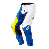 O'neal Mayhem Lite Split Pant Blue Yellow