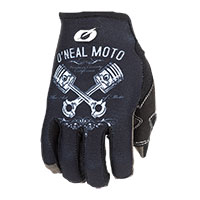 O Neal Mayhem Pistons 2 Gloves Black