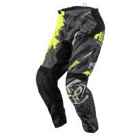 O Neal Element Ride Pants Black Black Yellow