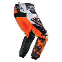 Oneal Pantaloni Element Shocker Nero Arancio
